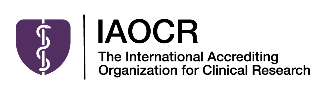 IAOCR Purple and Black Logo White Background